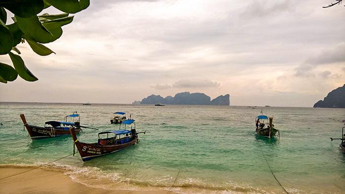 Ko Phi Phi - um paraíso na terra