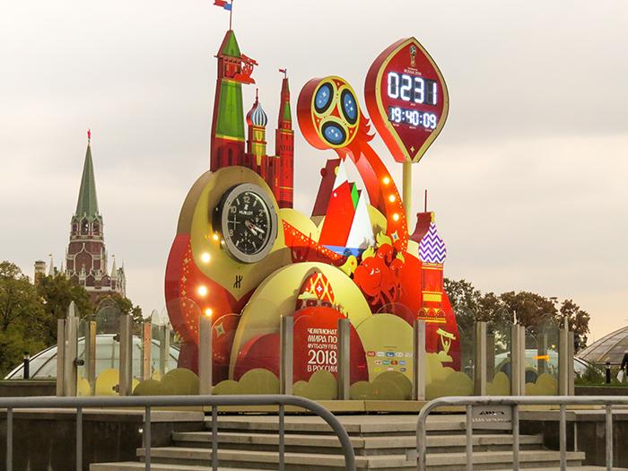 Os Russos estão contando as horas para a Copa do Mundo
