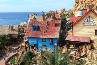 Popeye Village - as seen in the 1980s film starring Robin Williams, Anchor Bay