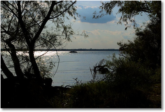 Canton Lake, Oklahoma, from Sandy Cove