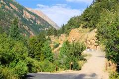 Fall River Road -- the original road to the top of Trail Ridge