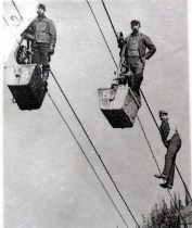 Aerial trams transported more than ore.