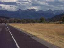 Approaching the San Juan Mountains