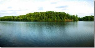 Lake Drum, Village Creek State Park, Arkansas, April 19, 2010