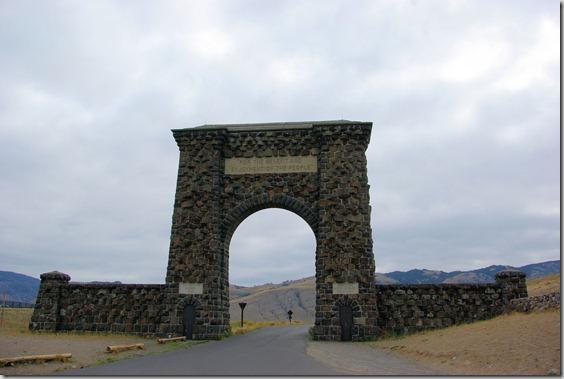 Roosevelt Arch, Gardiner, Montana, Yellowstone National Park