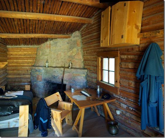 Fort Caspar Telegraph office, Casper, Wyoming