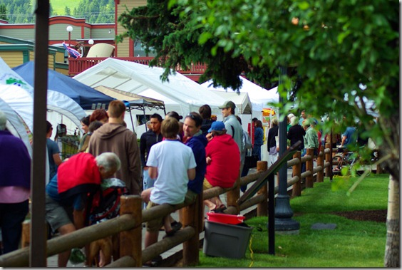Farmers' Market, Jackson, Wyoming, July 17, 2010