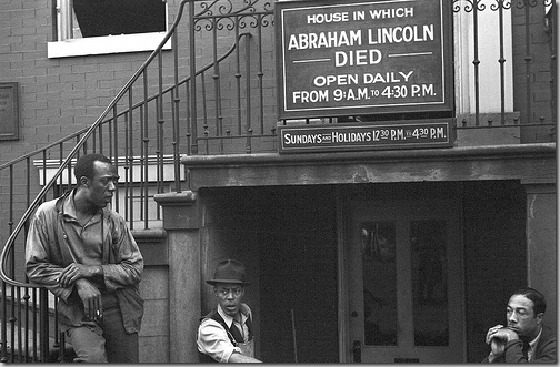 Eyes of the Great Depression 046, Washington, D.C. house where Lincoln died.