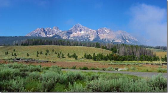 Sawtooth Mountains, Idaho