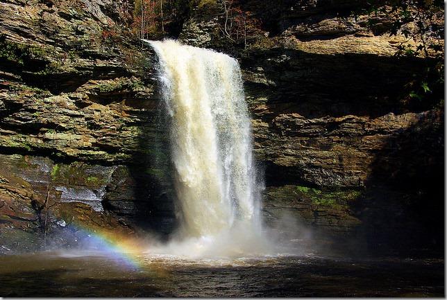 Cedar Falls, Petit Jean State Park, October 31, 2009