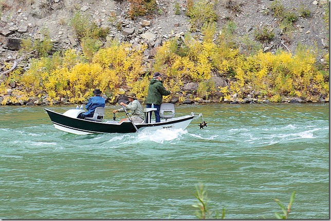 Drift Boat Fly Fishing on the Snake River