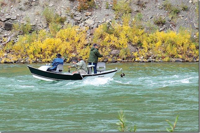 Drift Boat Fly Fishing on the Snake River