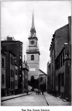 The Old North Church, Boston, Massachusetts