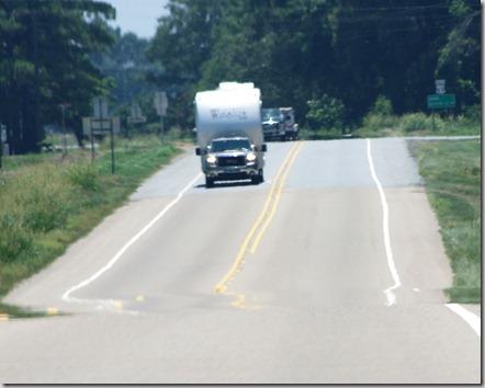US 65 in southeast Arkansas, July 1, 2011.
