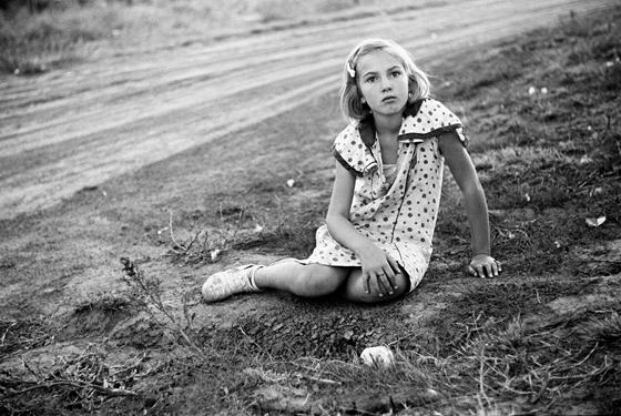 Farm girl. Seward County, Nebraska