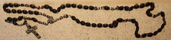 Linus Marlow's rosary.
