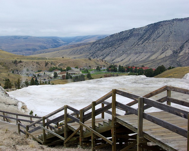 Mammoth Hot Springs, Yellowstone National Park, Wyoming, September 13, 2007