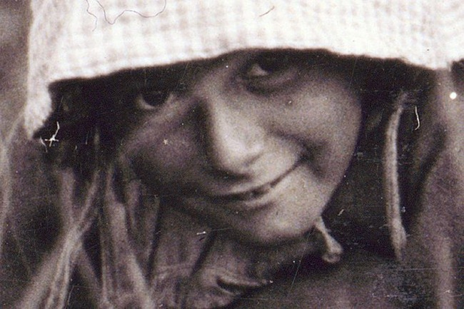 Millie Cornaro, Philadelphia, 10 years old. Cranberry Picker. 1910