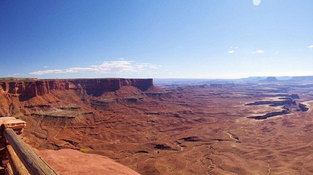 Grand View Rim Trail, Canyondlands National Park, Utah, September 25, 2011