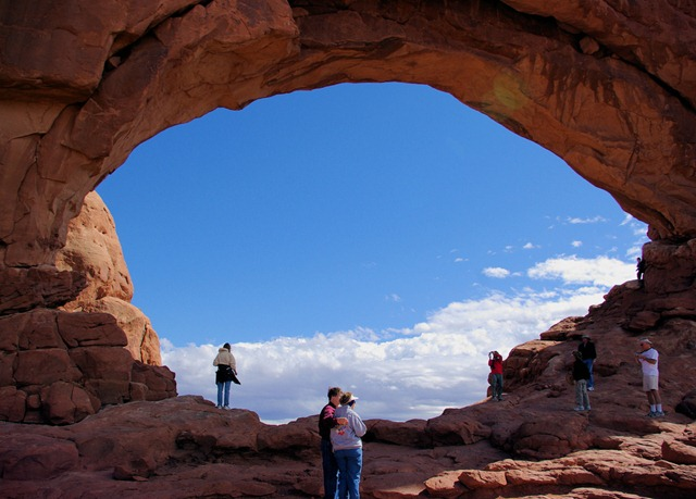 North Windows Arch, Arches National Park, September 24, 2007