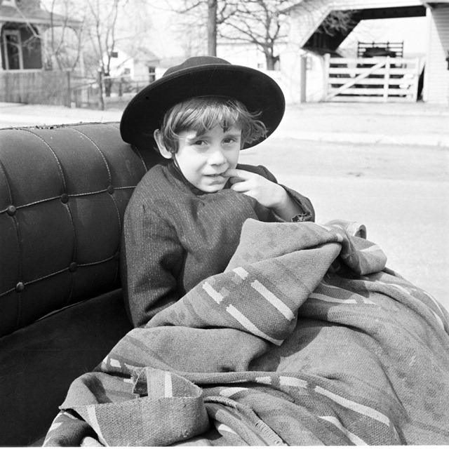 Mennonite boy, Lancaster, Pennsylvania. Photo by John Collier