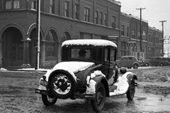 Model A after Snow