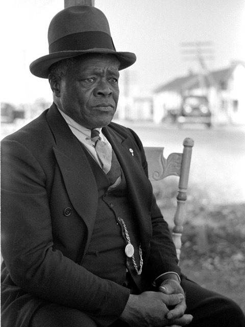 Proprietor of restaurant, Shellpile, New Jersey; photo by Resettlement Administration staff photographer Arthur Rothstein in Oct 1938