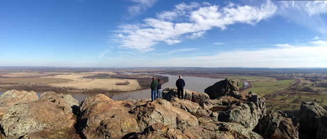 Stout's Point on the mountain's East Brow, Petit Jean State Park, Arkansas