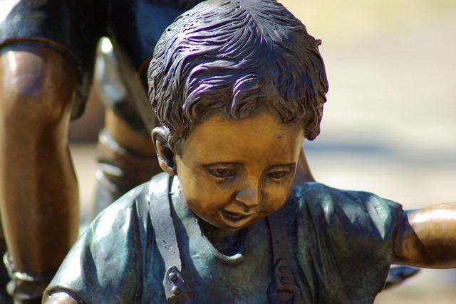 sculpture detail - Janet Huckabee Arkansas River Valley Nature Center
