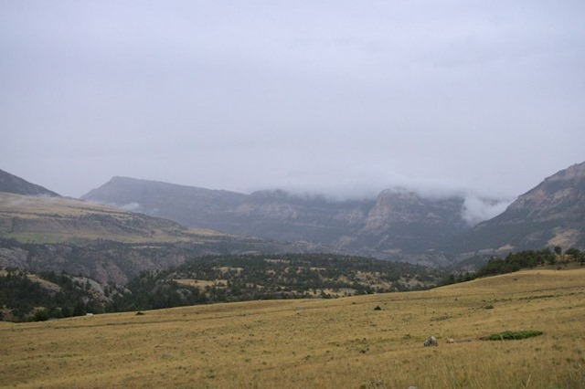 Absaroka Range, Chief Joseph Highway near Dead Indian Pass, August 14, 2014