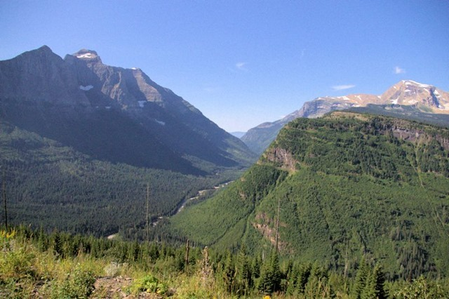 Going to the Sun Road, Glacier National Park, Montana, August 26, 2014