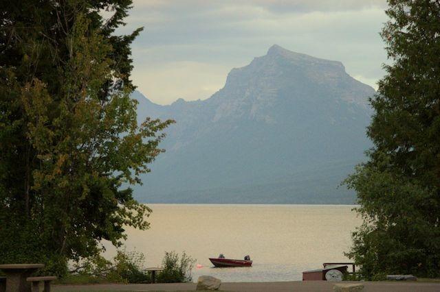 Lake McDonald, Glacier National Park, Montana, August 28, 2014