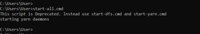 Start Hadoop Daemons