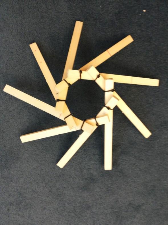Kurze Info zum Bau eines 9 Elemente-Wirbels
