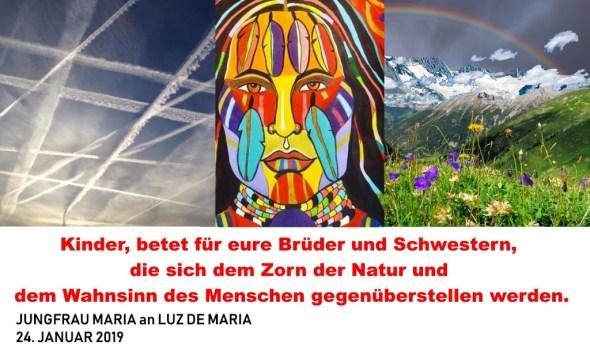 Regenbogen-Krieger in Offenbarungen des Himmels