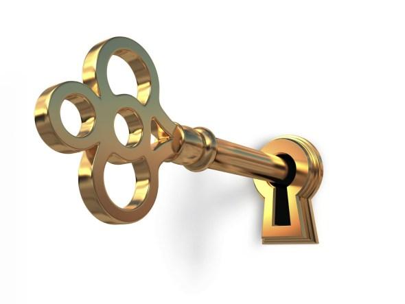 Gott gab mir den Schlüssel!
