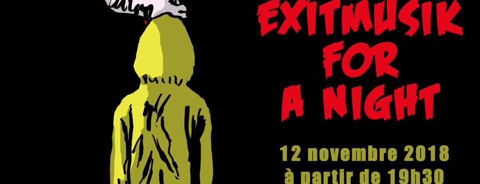 Exit Musik for a night : It It Anita, Equipe de Foot, Emboe le 12/11 au Klub