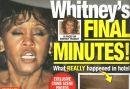 Whitney Houston en el National Enquirer