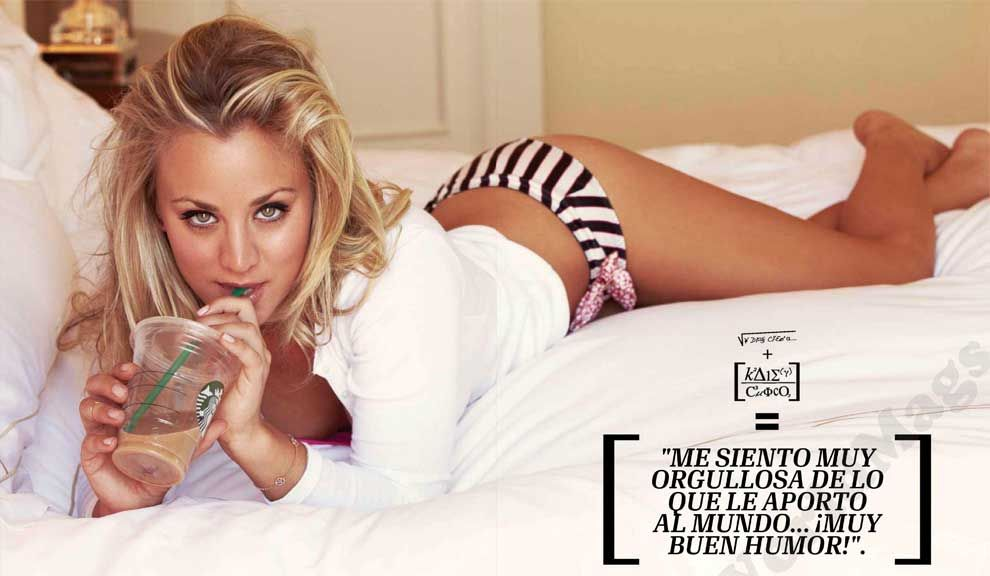 Kaley Cuoco en Esquire (5)