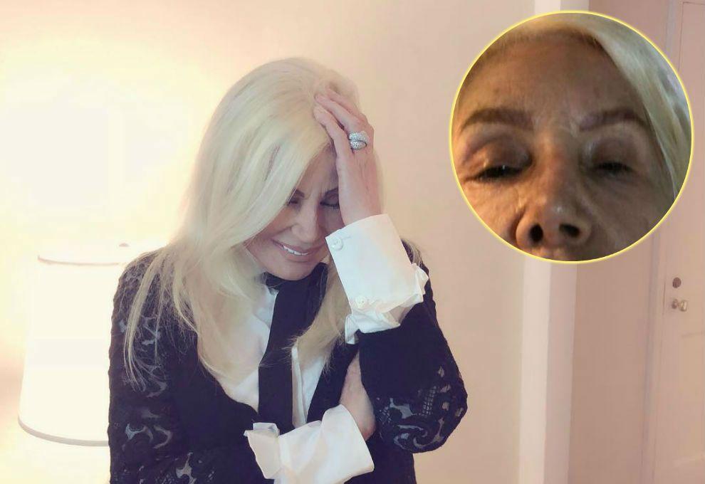 Susana shockeó las redes con una fuerte foto a cara lavada