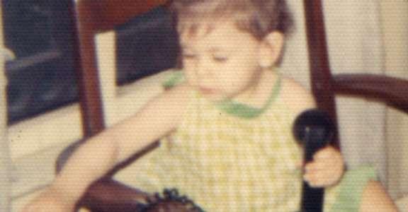 Lisa, circa 1973 or 1974.
