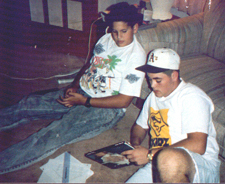 Jeff and Josh, circa 1991.