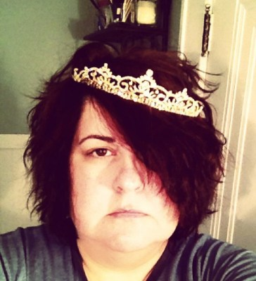 I got tiara'd by Val.