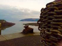 703-binnie-parker-a-bit-of-a-different-angle-of-porlock-weir-looking-over-to-north-hill