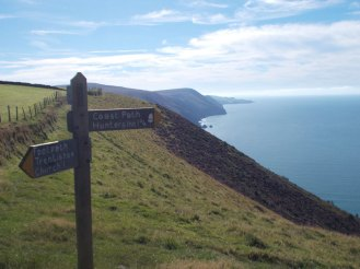 South West Coast Path - Trentishoe