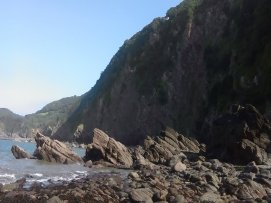 Woody Bay Beach