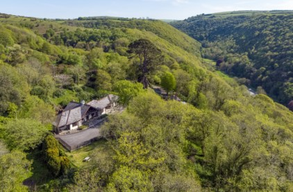 The Cottages Aerial View 2