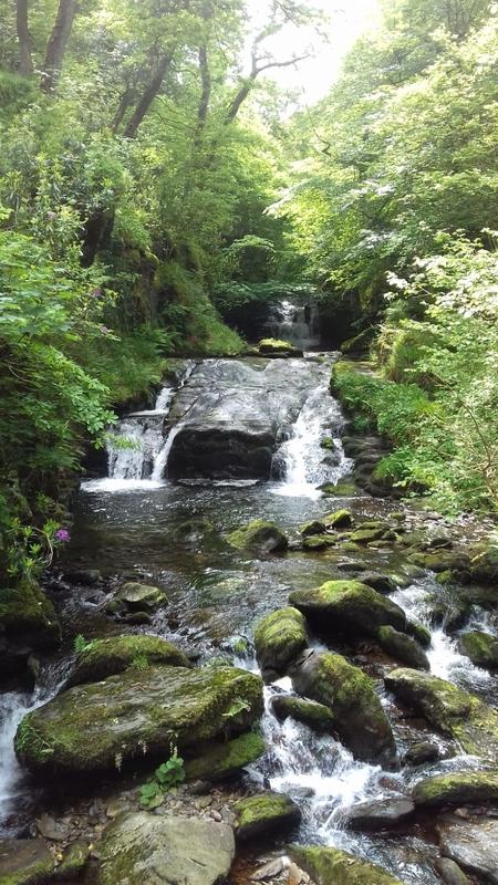 Watersmeet falls