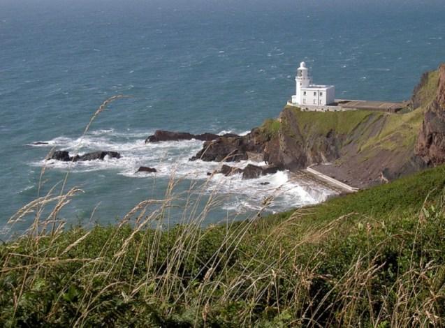 Lighthouse Hartland Point