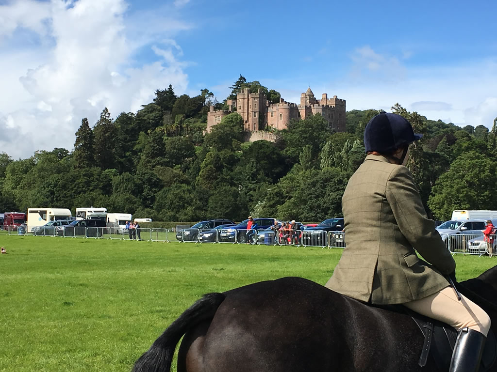 View of Dunster Castle